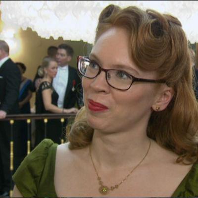 Maria Turtschaninoff på Slottsbalen 2015.
