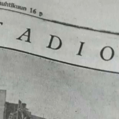 TIdningsartikel om Stadion.