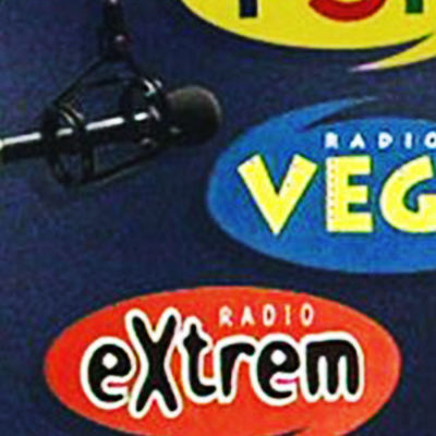 Extrem och Vegas logon.