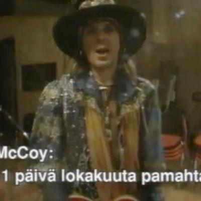 Andy McCoys puff för kanalen Radio Extrem.
