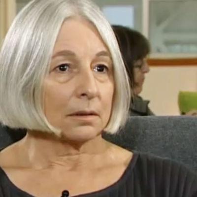 Jenny Diski i en intervju.