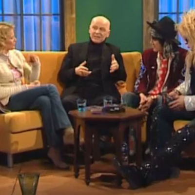 Bettina Sågbom intervjuar Andy McCoy, Michael Monroe och Jouko Turkka.