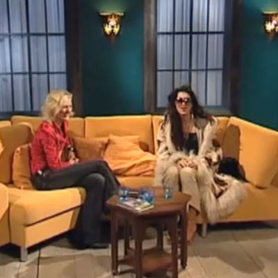 Bettina Sågbom intervjuar Angela McCoy.