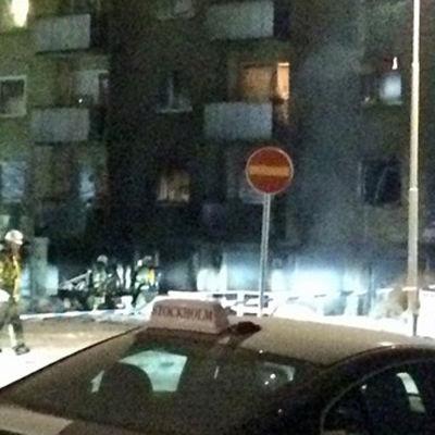 Explosion i Vällingby