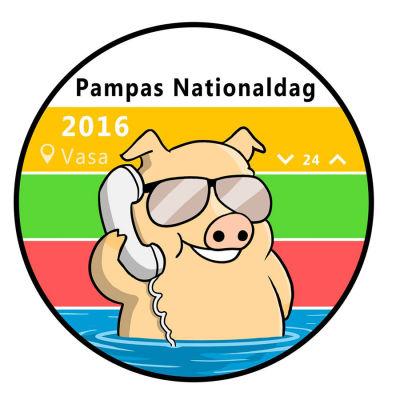 Pampas Nationaldagen logga.