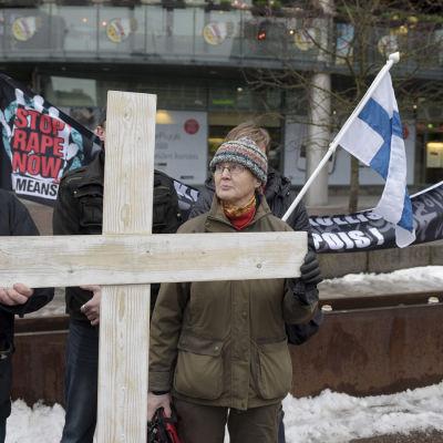 Stäng gränserna-demonstration
