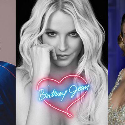 Photoshoppad bild på Katy Perry, Britney Spears och Taylor Swift.