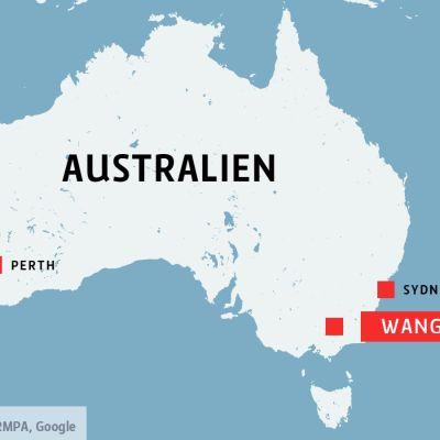 Wangaratta i Australien.