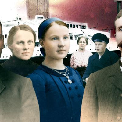 #Titanicilla henkilöt