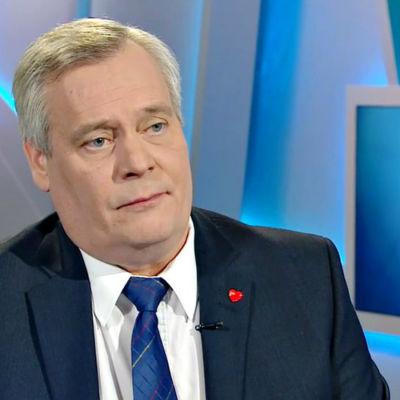 Socialdemokraternas ordförande Antti Rinne.