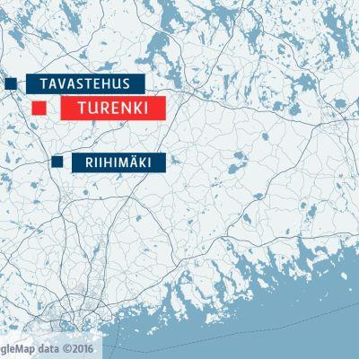 Karta, Turenki