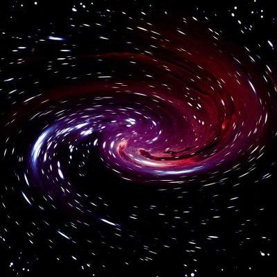avaruus, käsitelty kuva