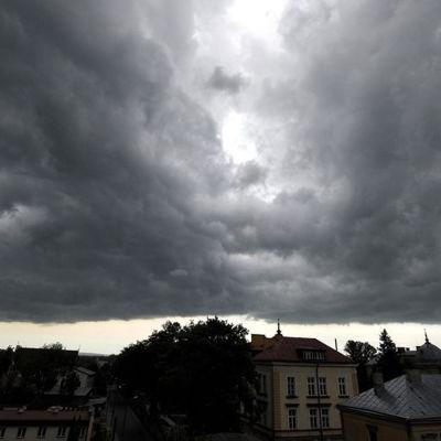 Åskväder i Polen