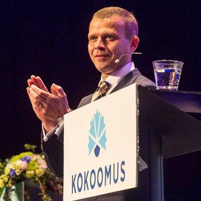Samlingspartiets nya ordförande Petteri Orpo