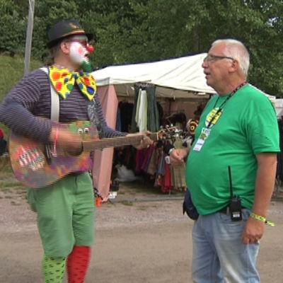 Faces-festivalen i Fiskars i augusti 2016.