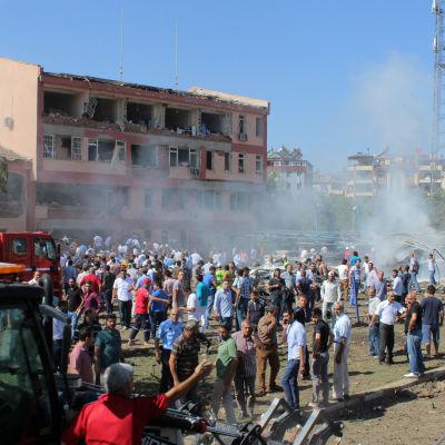 Bombdåd i Turkiet