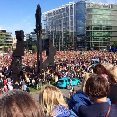 Demonstration i Helsingfors