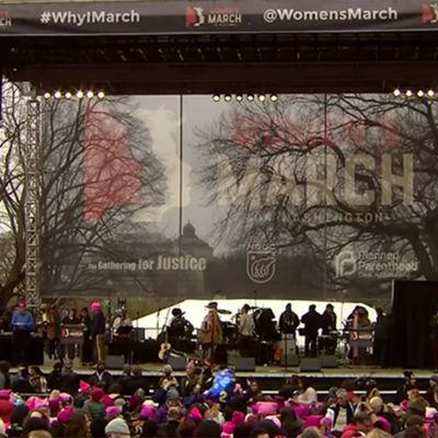 Kvinnomarschen i Washington 21.1.2017