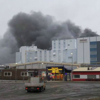 Brand i Meri-Pori 30.1.2017