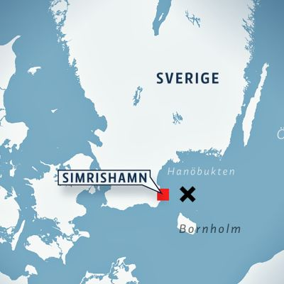 Olyckan inträffade cirka 40 kilometer österom Simrishamn.