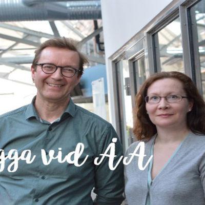 Markku Suksi och Linda Lindholm