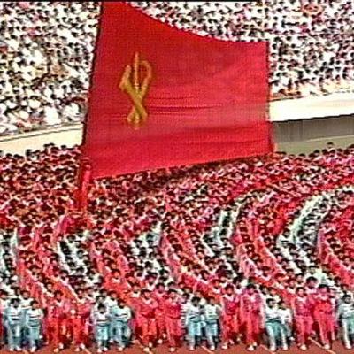 Festivaalit Pohjois-Koreassa 1989.