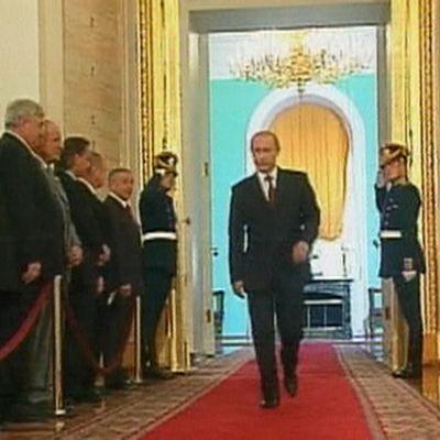 Presidentti Vladimir Putin Andrein salissa (2004).