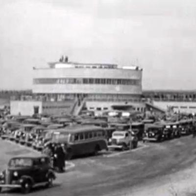 Malmin lentokenttä vuonna 1938 filmattuna.