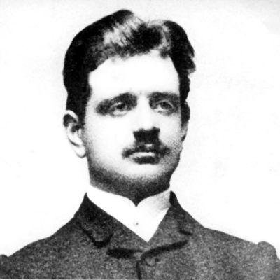 Jean Sibelius vuonna 1880