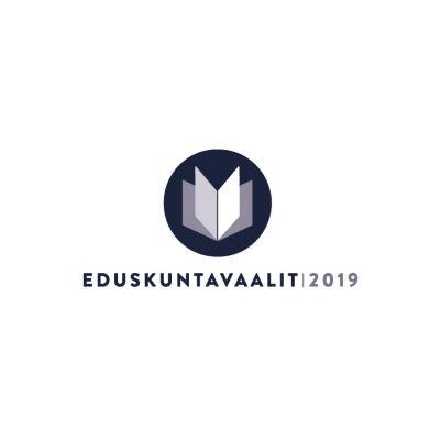 Logotypen för riksdagsvalen 2019