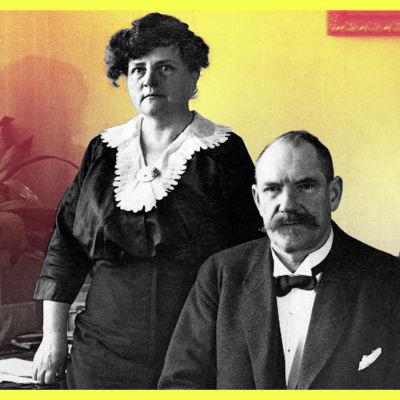 P. E. Svinhufvud ja Ellen Svinhufvud