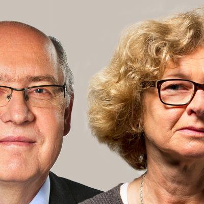 Johan Kjellberg och Anne Suominen från