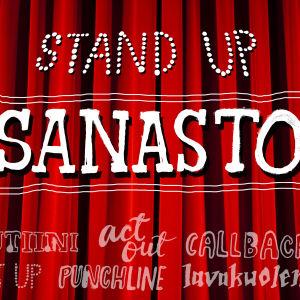 Stand upin sanasto