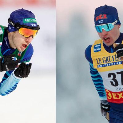 Ilkka Herola och Iivo Niskanen är Finlands trumfkort i VM i Oberstdorf.