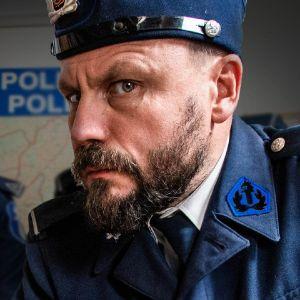 Riku Rantala poliisin asussa.