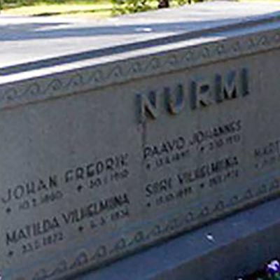Paavo Nurmi, 1897-1973