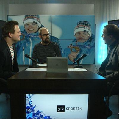 Chriso Vuojärvi deltog i debatten från New York.