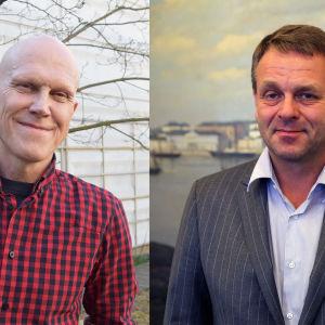 Thomas Wallgren och Jan Vapaavuori.