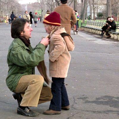 """Dustin Hoffman och Justin Henry i filmen """"Kramer vs. Kramer"""""""