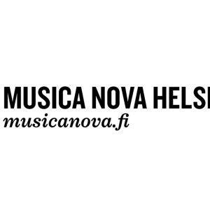 Musica nova Helsinki, logo.