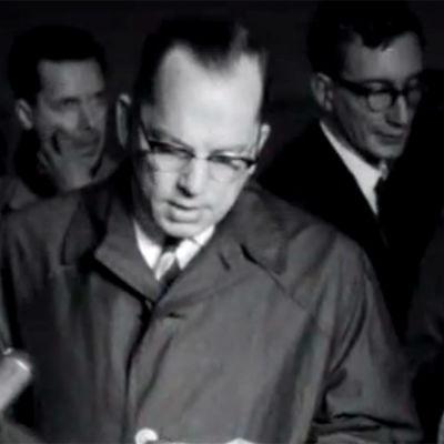 Ulkoministeri Ahti Karlainen kommentoi noottikriisiä (1961).
