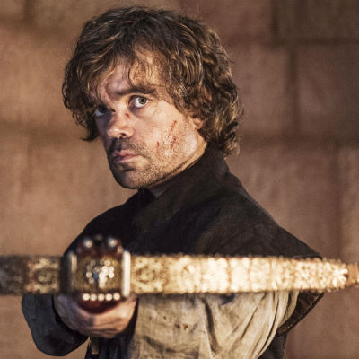 Game of Thrones-sarjan Tyrion Lannister (Peter Dinklage).