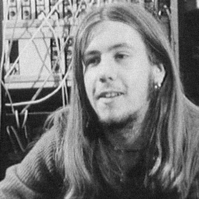 Kitaristi Jukka Tolonen studiossa vuonna 1973