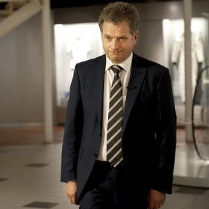 Sauli Niinistö vuonna 2012