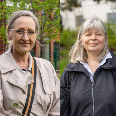 Laila Andersson, Anna Paasikivi och Arja Alho