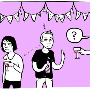 Alkoholistin läheistyyppi: Ehdoton