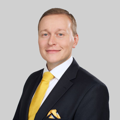 Carl Pettersson, verkställande direktör för Veritas