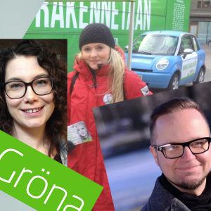Kandidaterna i De grönas ordförandeval