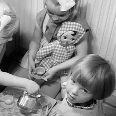 Lapsia MML:n päiväkodissa.