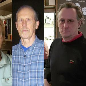 En kvinna, en ung man, en äldre man och en medelålders man.